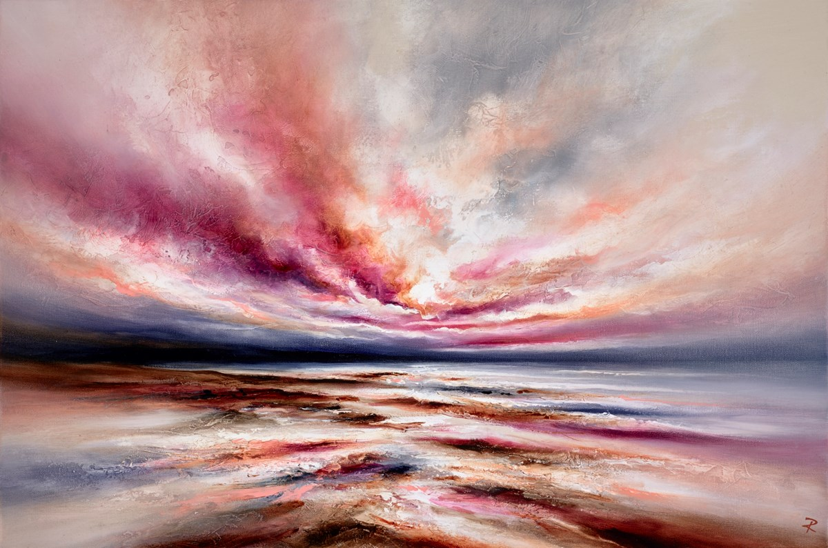 Ethereal Shores II by chris and steve rocks -  sized 36x24 inches. Available from Whitewall Galleries